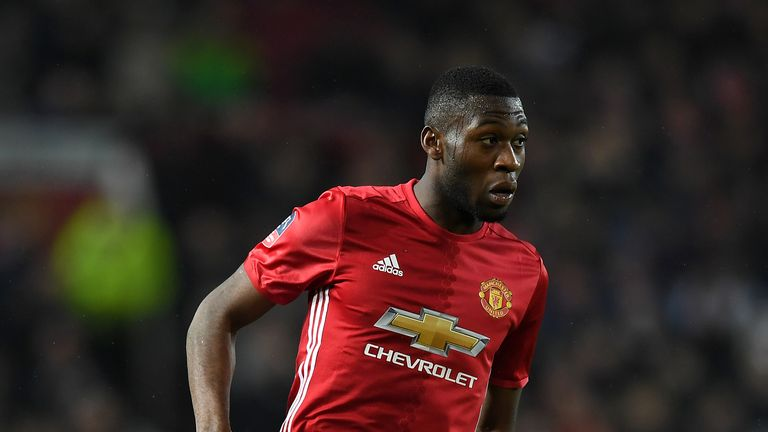 Timothy Fosu-Mensah is having a medical at Crystal Palace ahead of a season-long loan