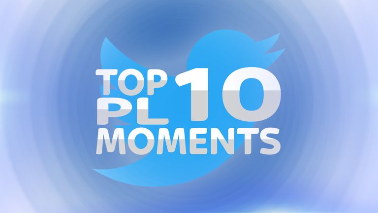 Top 10 most popular Premier League moments on Twitter revealed