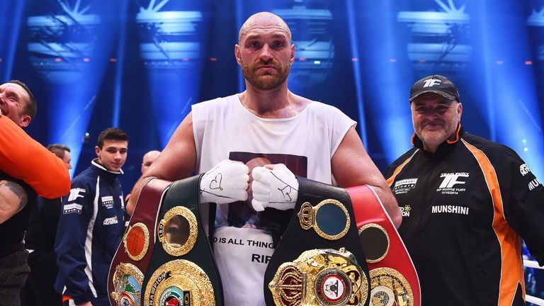 Tyson Fury was last in action when he defeated Wladimir Klitschko in November 28, 2015