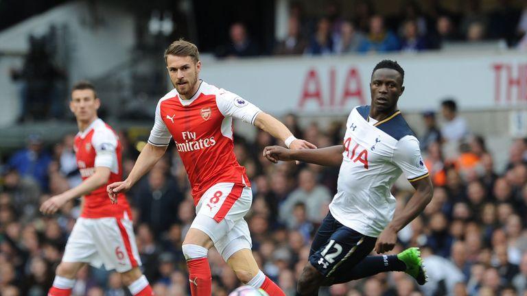 Victor Wanyama (right) was not surprised Tottenham beat Arsenal on Sunday