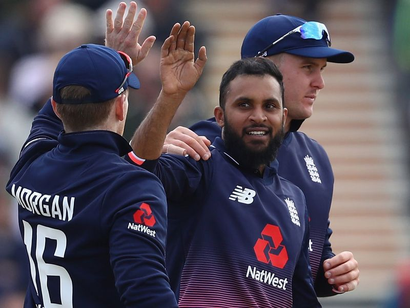 Adil Rashid picked up his first ODI five-fer as Ireland were bowled out cheaply