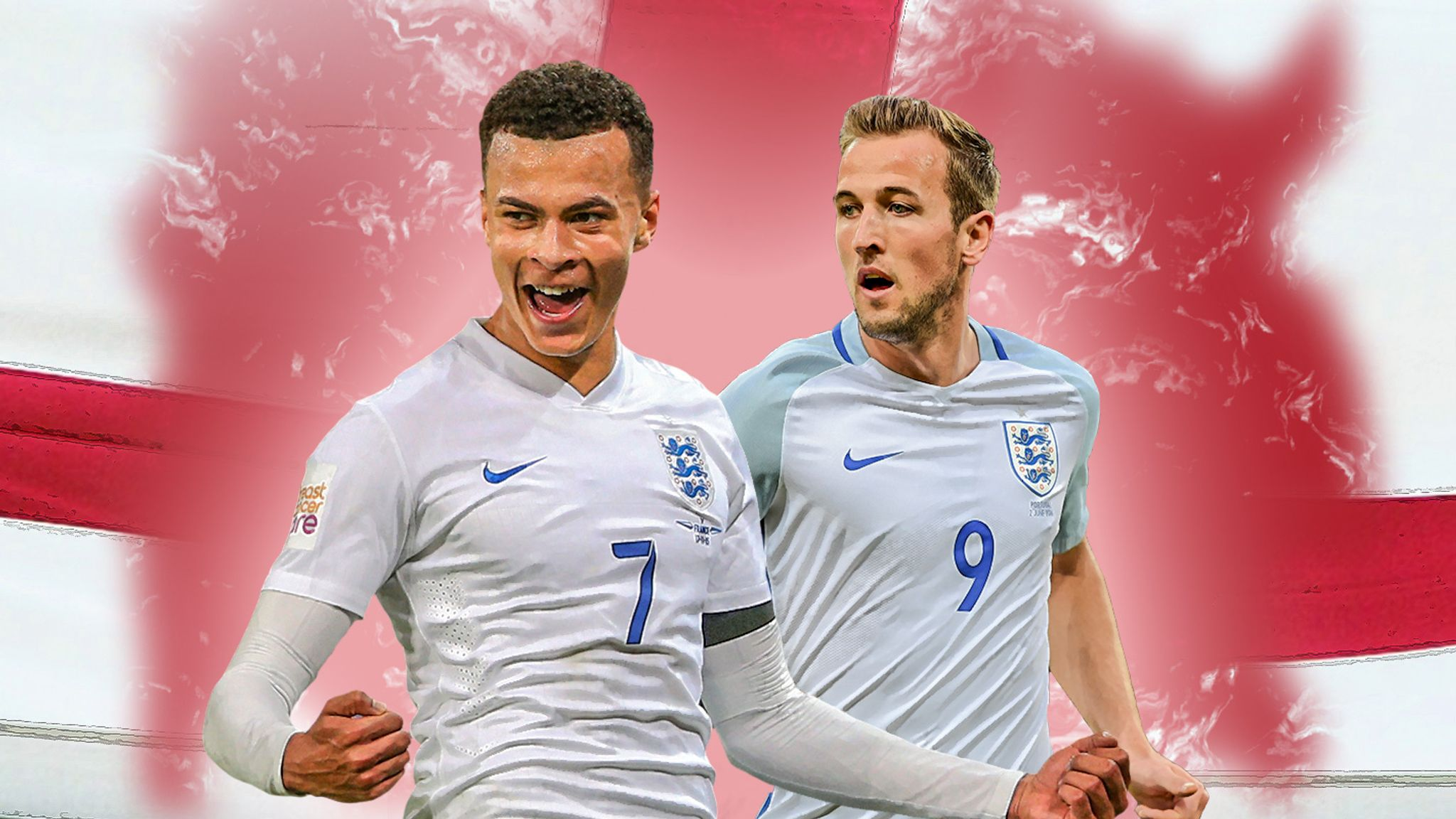 new concept 6c9c6 faa8d Harry Kane and Dele Alli's England partnership could be the ...