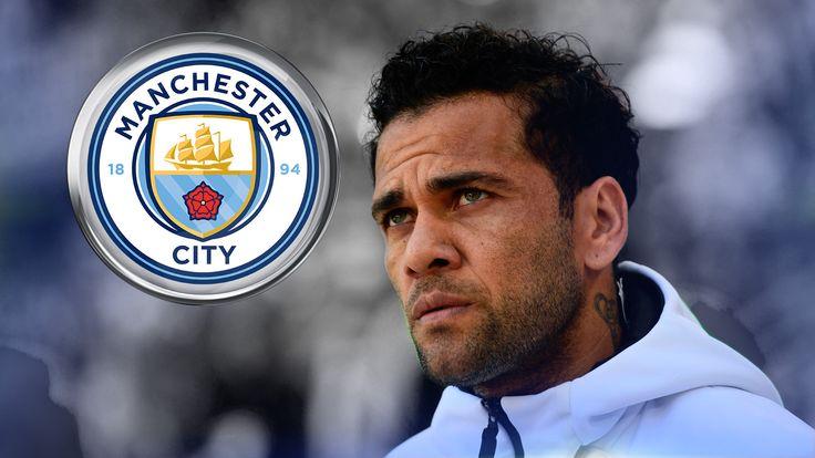 Juventus full-back Dani Alves is a target for Manchester City