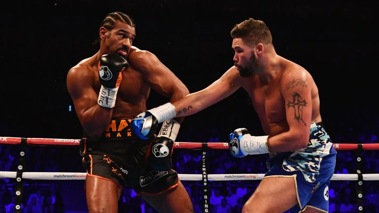Bellew stopped Haye in the 11th round of their March contest