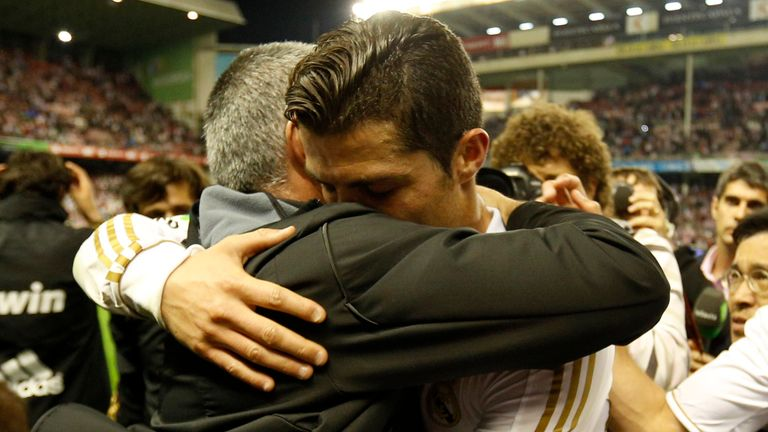 Ronaldo helped Mourinho deliver the La Liga title in 2012 with a haul of 100 points