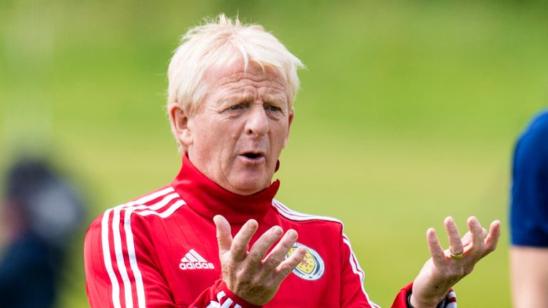 Gordon Strachan left his position as Scotland's manager last month after almost five years in charge