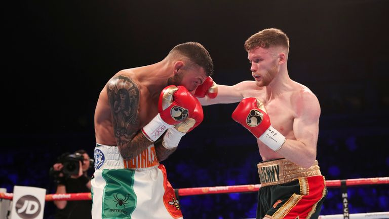 Tennyson made a strong start to the fight in Belfast