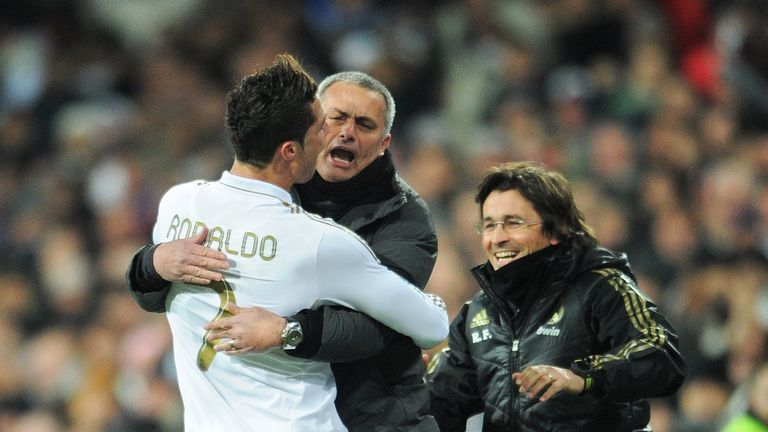 "Mourinho has described Ronaldo as ""goalscoring machine"" following his achievements at Real Madrid"
