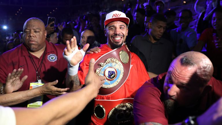 Andre Ward has hinted at a possible heavyweight fight against Anthony Joshua