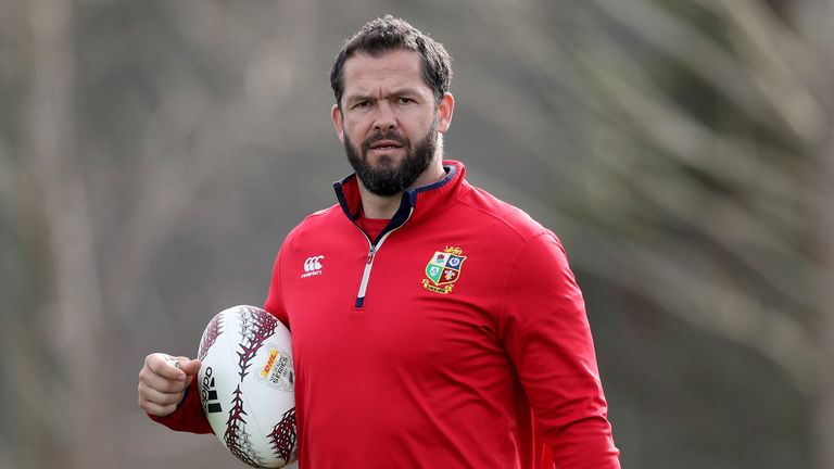 Andy Farrell added another All Blacks scalp to his coaching CV