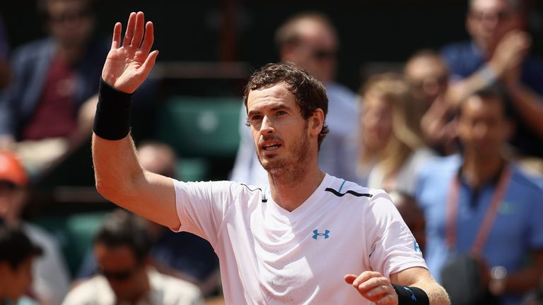 Andy Murray feels he is getting better with each match at Roland Garros