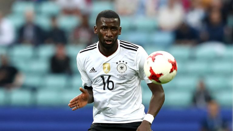 Rudiger represented Germany at this year's Confederations Cup in Russia