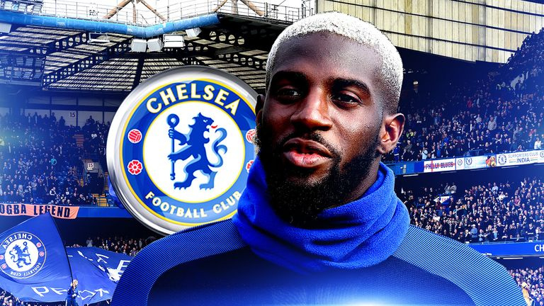 Tiemoue Bakayoko has yet to play for Chelsea sinnce signing from Monaco