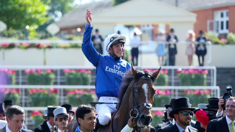 Barney Roy is fancied to spark more celebrations at Ascot