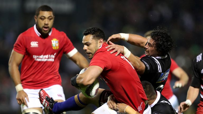 Te'o impressed for the British and Irish Lions earlier this year