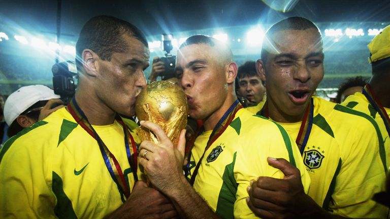 Brazil won the 2002 World Cup, beating Germany in the final
