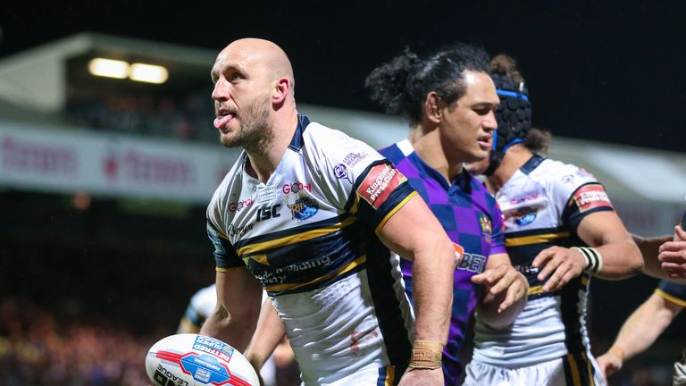 Carl Ablett to retire after outstanding career with Leeds   Rugby League News  