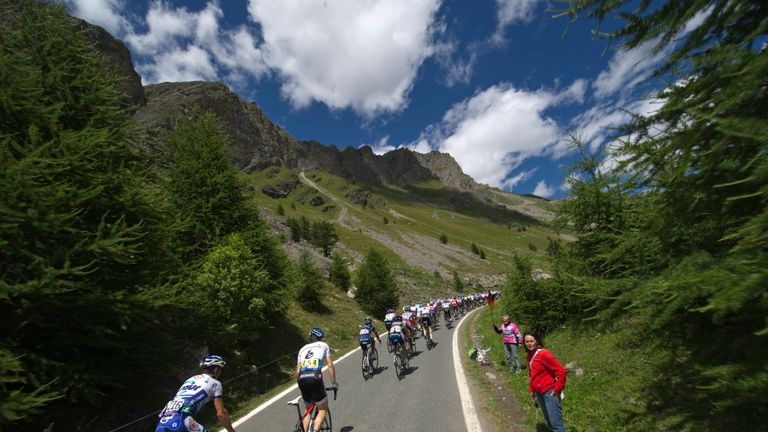 The peloton will take on the epic Col d'Izoard this summer