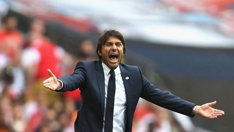Antonio Conte is yet to sign a contract extension at Chelsea