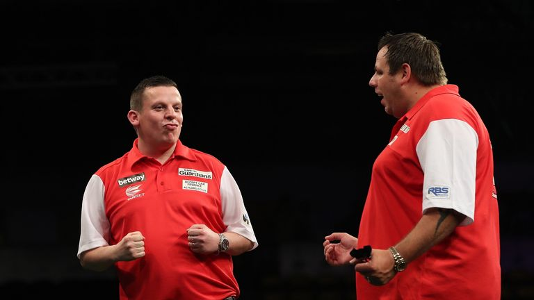 Chisnall featured alongside Lewis in last year's event