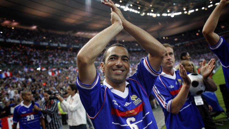 Youri Djorkaeff was part of France's 1998 World Cup winning side