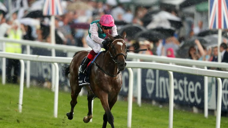 Enable and Frankie Dettori win the Investec Oaks