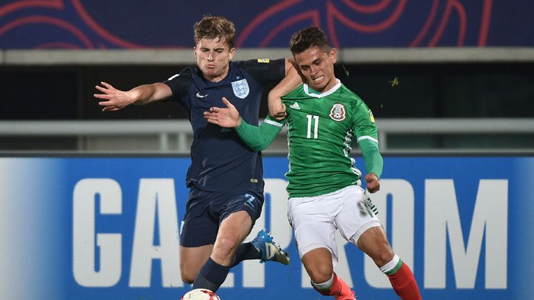 England defender Jonjoe Kenny impressed in the tournament
