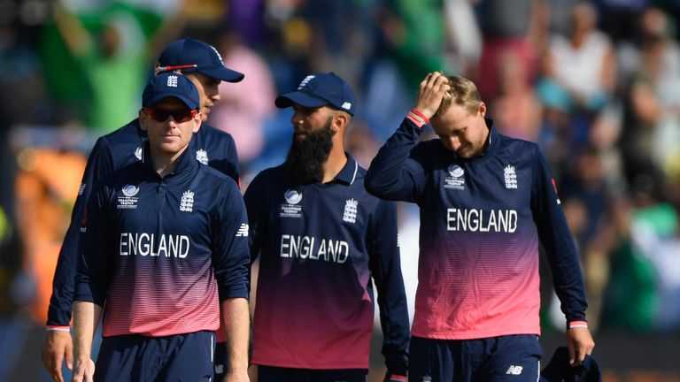England lost to Pakistan in this summer's ICC Champions Trophy semi-final.