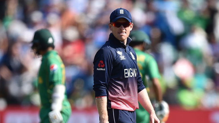 Eoin Morgan will captain England in the five ODIs against Windies