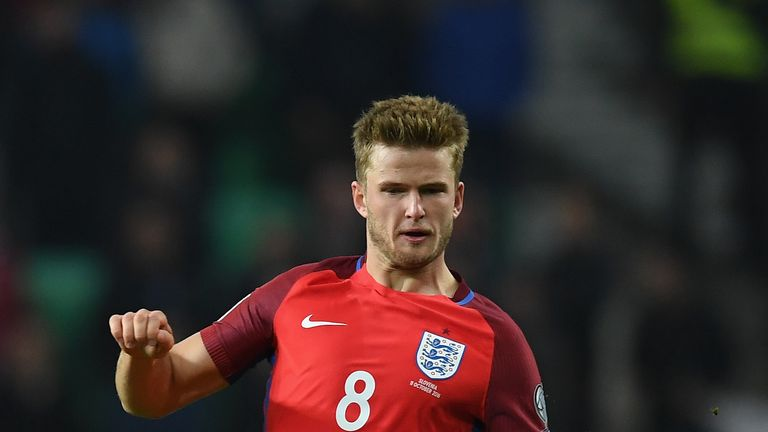 Eric Dier will be available for England after being suspended on Friday