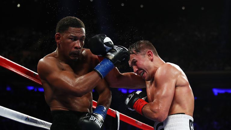 The American earned praise after points defeat to Gennady Golovkin