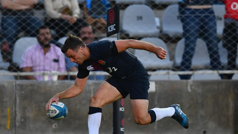 George Ford scored 23 points in the close-fought victory