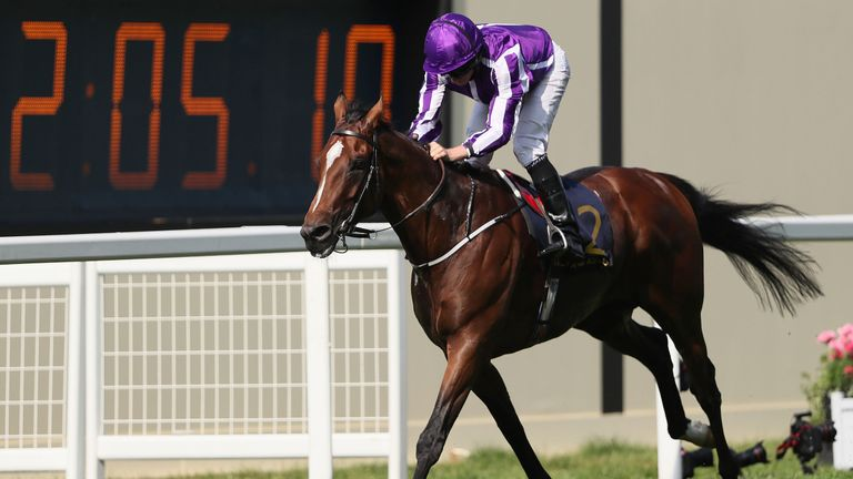Highland Reel and Ryan Moore win the Prince Of Wales's Stakes