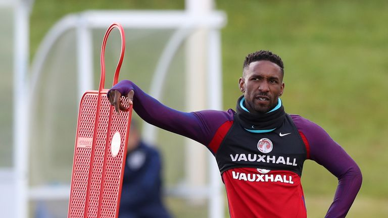 Defoe was left out of the England squad for friendlies against Germany and Brazil