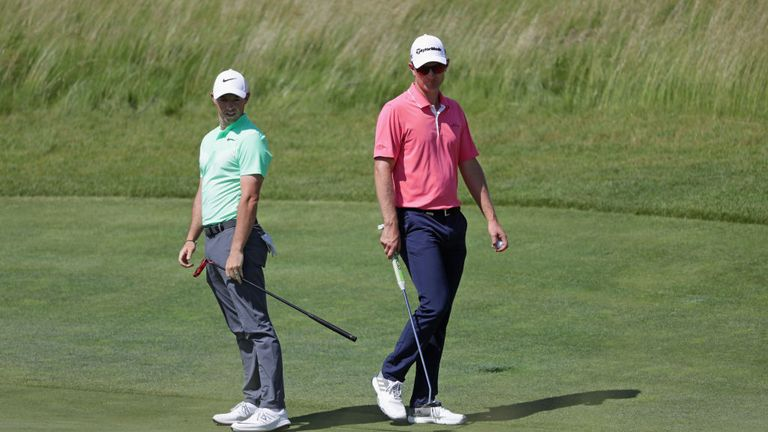 Rory McIlroy and Justin Rose have given their opinions on the golf ball debate