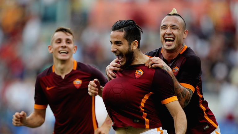 Roma defender Kostas Manolas was due to have a medical at Zenit St Petersburg on Wednesday morning