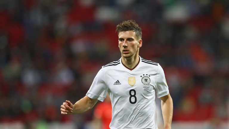 Goretzka is part of Germany's squad for the Confederations Cup