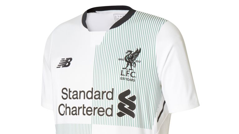 The new Liverpool away kit