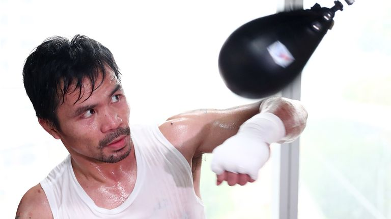 Manny Pacquiao is now a senator in the Philippines