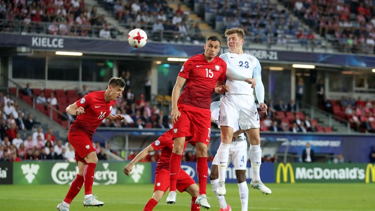 Mawson represented England U21s at this summer's European Championship