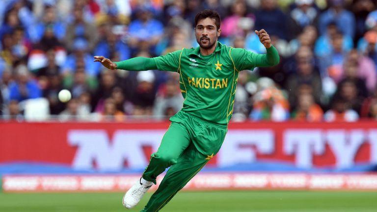 Amir was part of Pakistan's ICC Champions Trophy-winning side