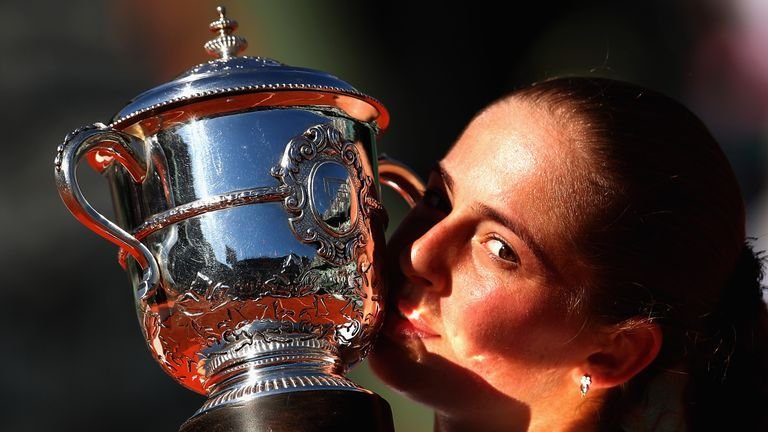 Jelena Ostapenko stunned the tennis world to win the French Open