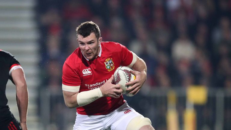 Peter O'Mahony skippers the Lions against the Maori All Blacks on Saturday