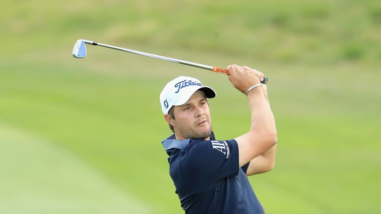 Peter Uihlein is in a share for the lead after three rounds