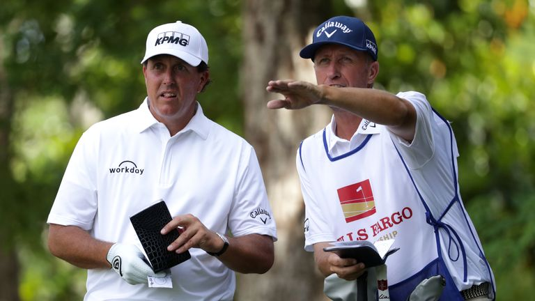 Phil Mickelson has split with his caddie, Jim Mackay, after 25 years together