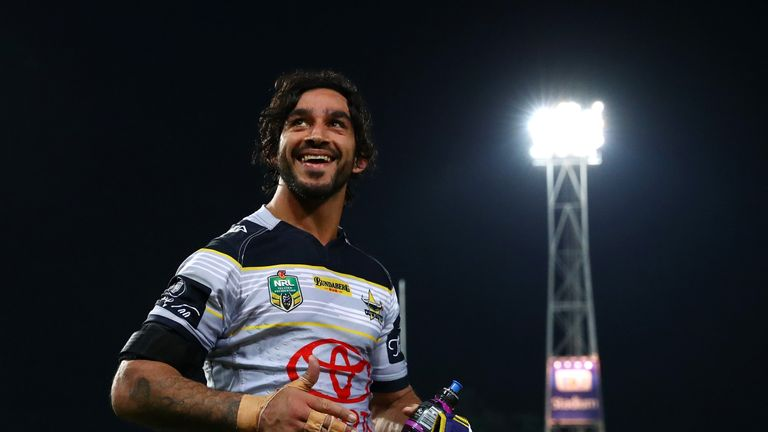 Cowboys half-back Johnathan Thurston has called time on his career