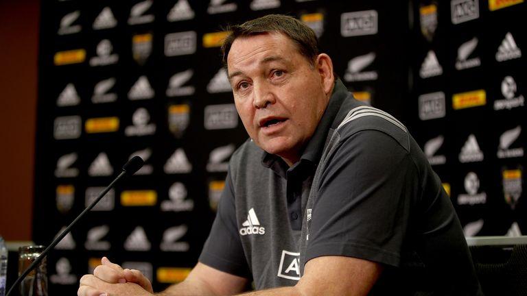 All Blacks head coach Steve Hansen says Warren Gatland has attempted to 'bully' referee Jaco Peyper