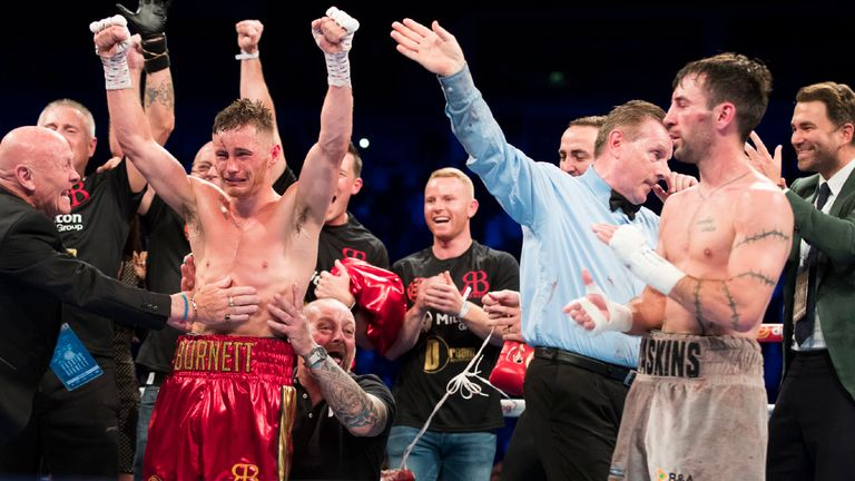 Ryan Burnett' and his red shorts got the nod over Lee Haskins