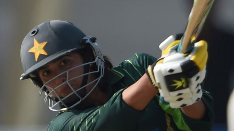 Sana Mir top-scored for Pakistan in the World Cup with 153 runs