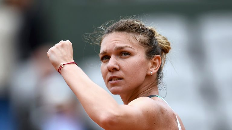 Simona Halep moves up to second after her French Open final loss